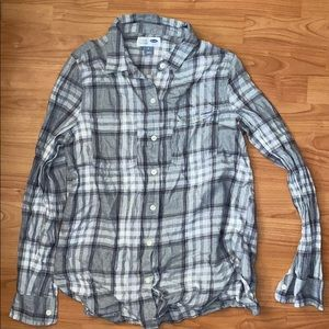 🍭Old Navy Grey Flannel